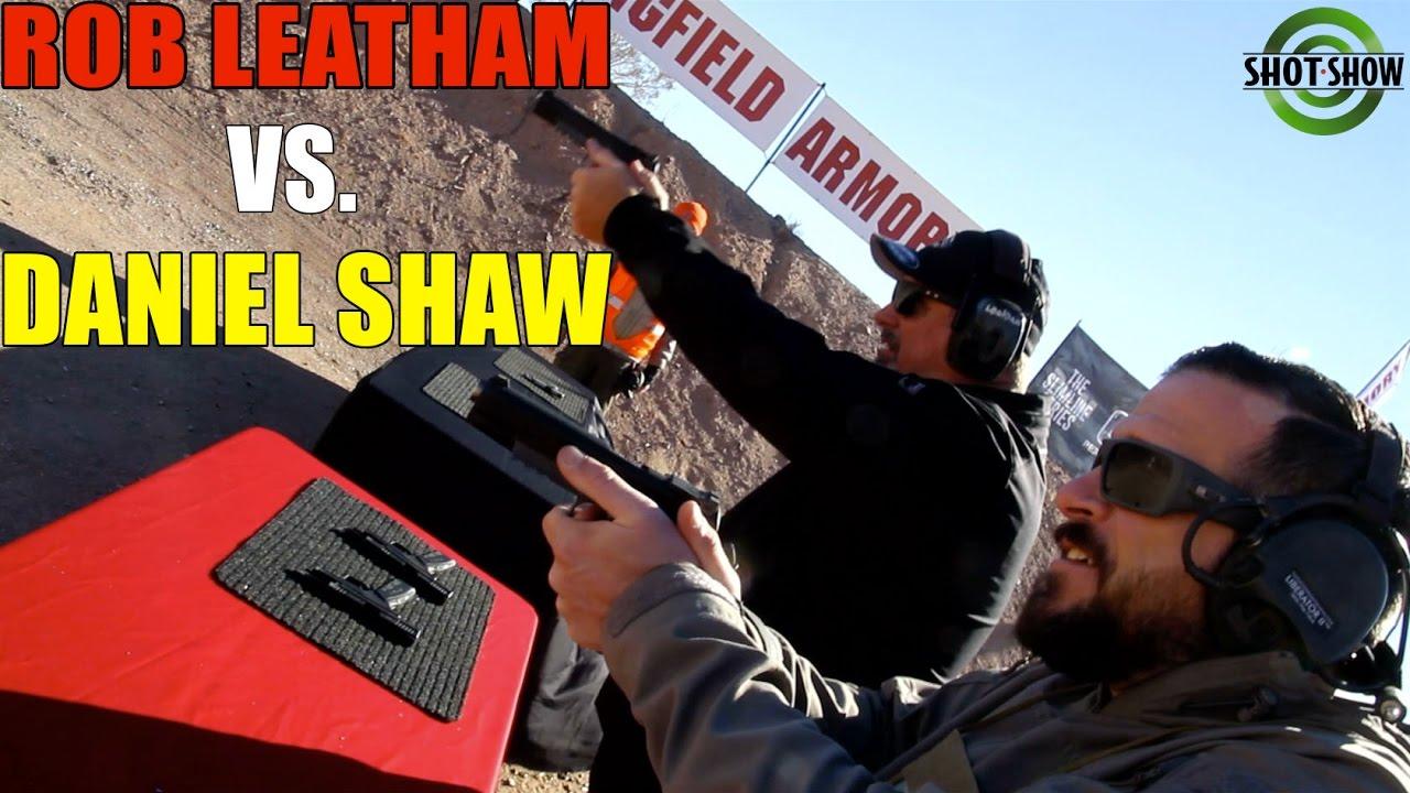 Daniel Shaw vs Rob Leatham! | The Springfield Armory TRP - YouTube