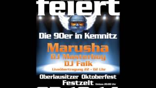 Marusha @ Lausitzer Oktoberfest Sunshine Live broadcast 03.10.2014 - Rave & Old School Set