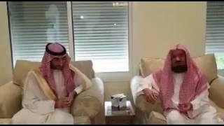 بالفيديو والصور.. نائب أمير مكة يزور عدداً من العلماء والمشايخ لتهنئتهم بعيد الفطر.. بينهم المنيع والسديس