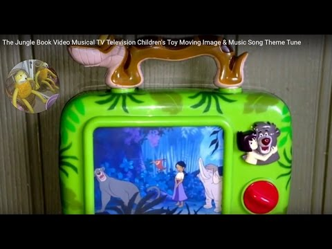 The Jungle Book Video Musical TV Television Children's Toy Moving Image & Music Song Theme Tune