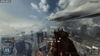 """Battlefield 4 PC Gameplay - BF4 Multiplayer Open Beta Siege of Shanghai """"Battlefield 4"""""""