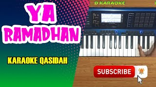 YA RAMADHAN Karaoke Qasidah Dangdut - Nasida Ria