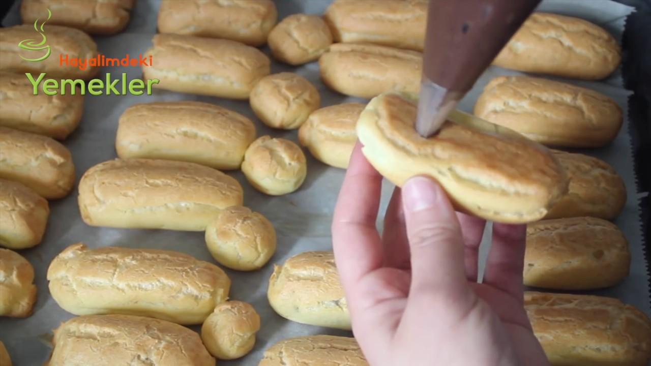 Ekler Pasta Nasıl Yapılır Videosu