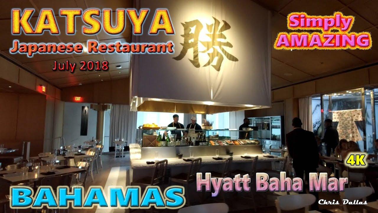 Katsuya Restaurant Hyatt Baha Mar Bahamas July 9 16 2018
