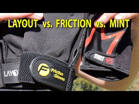 Ultimate Frisbee Glove Comparison: Layout Vs. Friction Vs. Mint