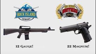 Rock Island Armory - Shot Show 2018