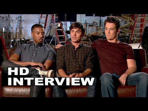 """That Awkward Moment: Zac Efron """"Jason"""", Miles Teller """"Daniel & Michael B. Jordan """"Mikey"""" Interview"""
