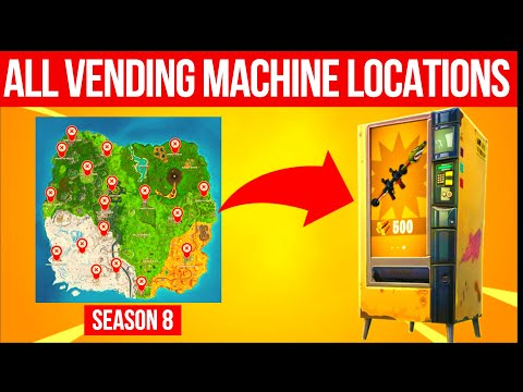All Vending Machine Locations  - Season 9 Fortnite Guide (Most Available For Season 9)
