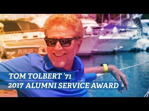 Tom Tolbert '71 - 2017 Alumni Service Award