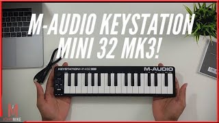 M-Audio Keystation Mini 32 MK3 Review!(2019]
