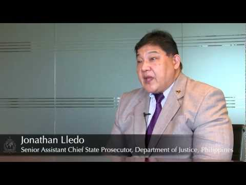 Jonathan Lledo, Senior Assistant Chief State Prosecutor, Department of Justice, Philippines