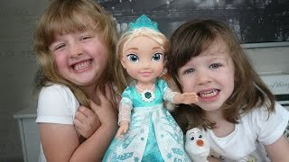 What The Kids Think Episode 14 - Frozen Snow Glow Elsa Singing Doll Review