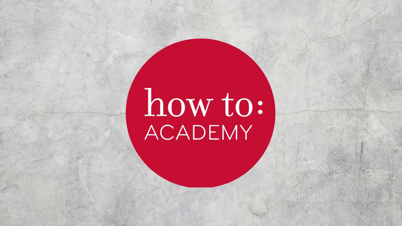 12 Rules for Life: London: How To Academy - YouTube
