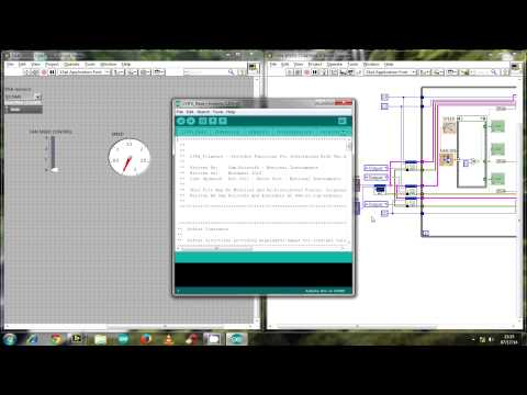 AUTOMATED CONTROL FAN USING LABVIEW WITH ARDUINO PART 1