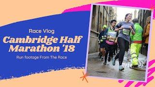 Cambridge Half Marathon 2018   RACE VLOG   Laura : Fat to Fit