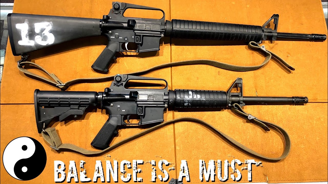 Offense VS Defense Rifle What's The Difference