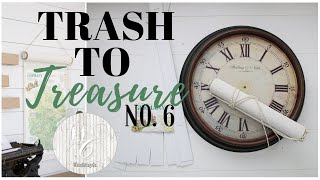 Trash to Treasure Video 6 ~  Farmhouse Style Makeovers ~ DIY Home Decor