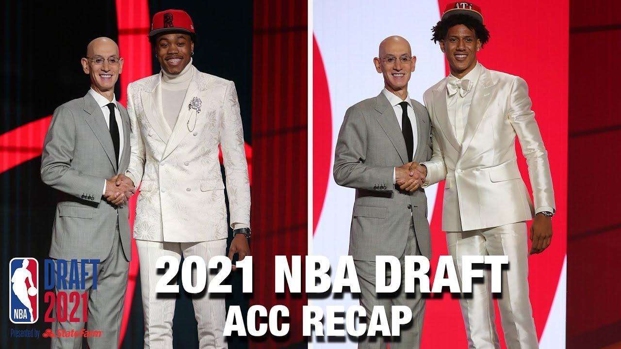 Seven ACC Players Chosen in 2021 NBA Draft