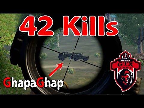 42 kills | M416 + Kar98 | PUBG MOBILE Feat. Atharva Ajju Pratham