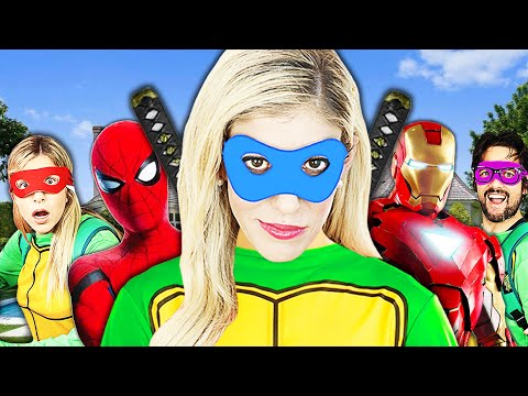 Giant Comic Book Masquerade Ball in Real Life to Save Game Master! Rebecca Zamolo from YouTube · Duration:  29 minutes 7 seconds