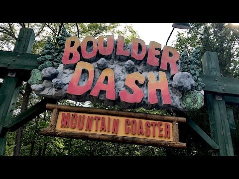 Boulder Dash Review Lake Compounce Roller Coaster