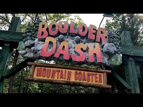 Boulder Dash Review Lake Compounce Roller Coaster