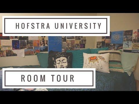 Hofstra University Dorm Tour   College Vibes