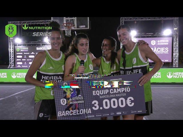 Entrevista Delta Team, ganadoras del Máster Final Barcelona Herbalife 3x3 Series 2021