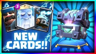 opening all new chests legendary kings chest fortune chest lightning chest opening clash royale