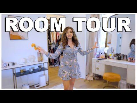 Pokimane's 2021 ROOM TOUR + Gaming Setup!