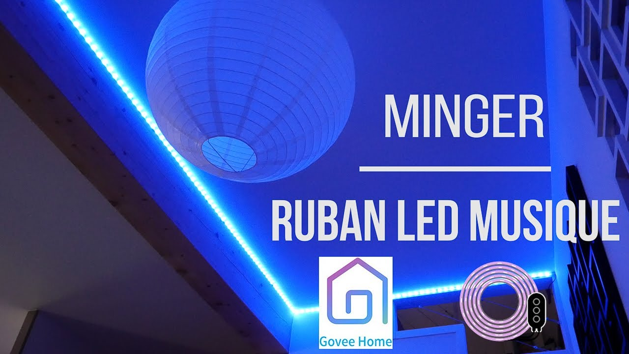 Review Of The Minger LED Strip (music Synchro)