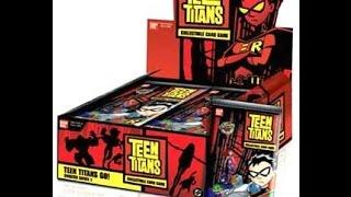 Teen Titans Go! CCG complete 120 card set Bandai Card Collectible Game