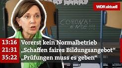 Schulen in NRW – Wie geht es weiter?  | WDR aktuell