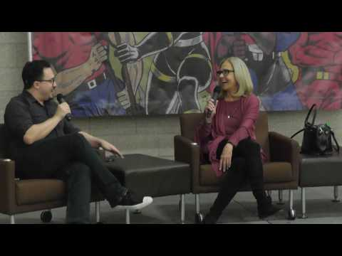 Dallas Comic Show - 2017 February - Erin Gray (Buck Rogers in the 25th Century, The Guild)
