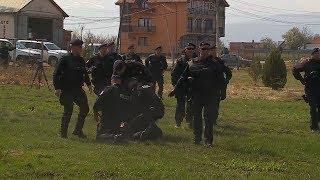 Protesta në Prelez përleshen me policinë, 04 Prill 2019 RTV TEMA