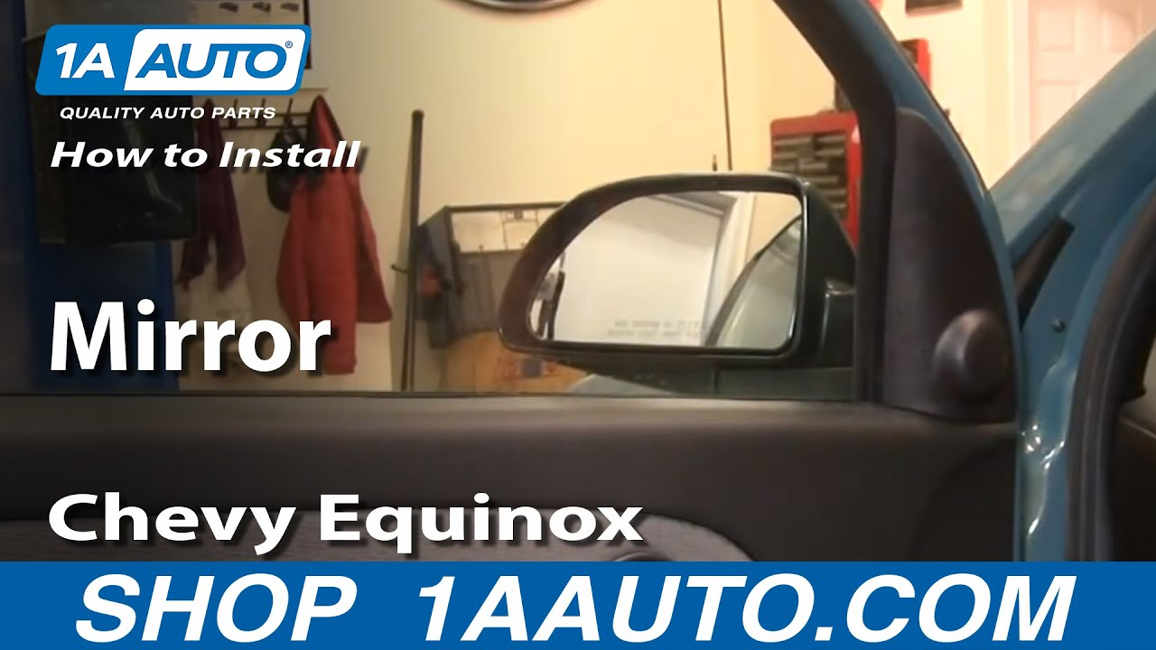 How To Replace Side Mirror 05 09 Chevy Equinox Youtube Chevrolet Beat Wiring Diagram