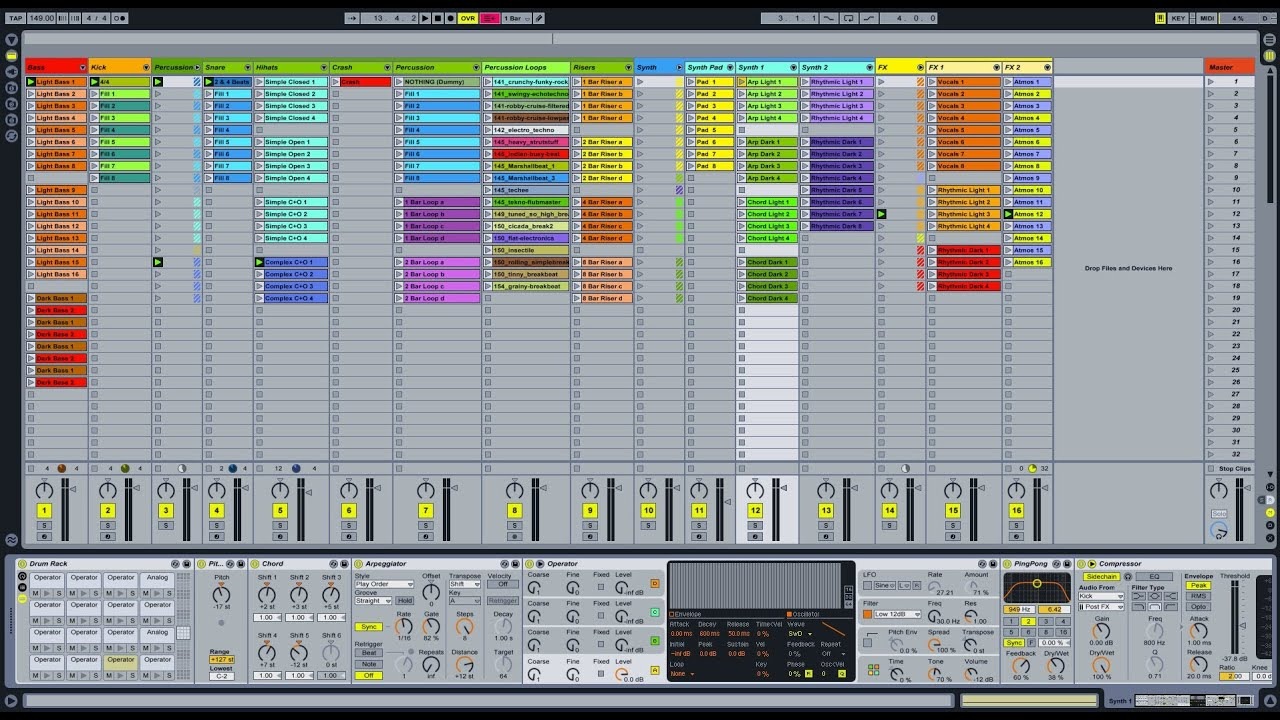 Ableton Live Template Psy Trance Youtube