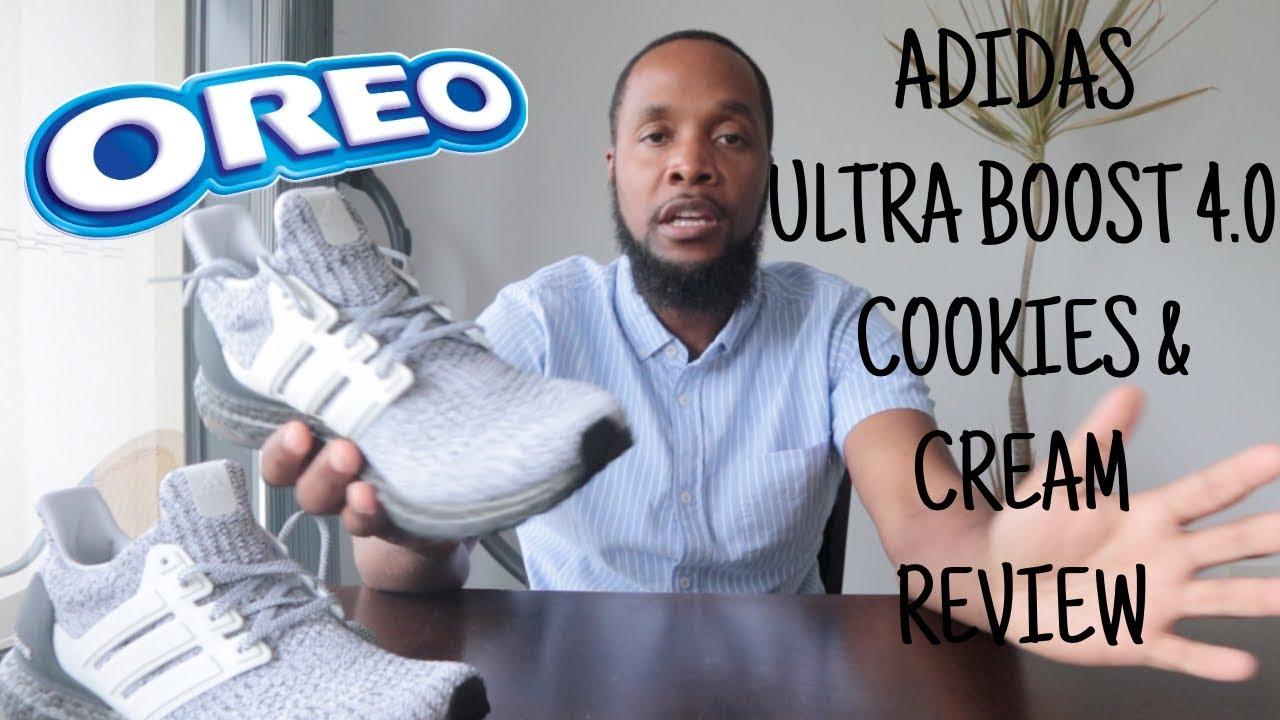 On Feet: Adidas UltraBoost 4.0 (Cookies 'n Cream) BB6168