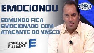 Novo atacante do Vasco quase leva Edmundo às lágrimas