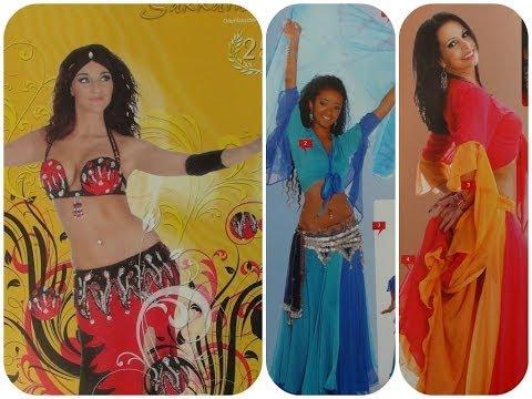 Костюмы для восточных танцев Ирины Роззе + МК по украшению таких костюмов