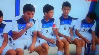Дети Азии-2016: Сборная Кыргызстана в меньшинстве уступила Японии - 1:2
