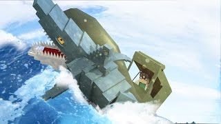Jaws Movie 2 - Rescued From Jaws Shark Siege! (Minecraft Roleplay) #6