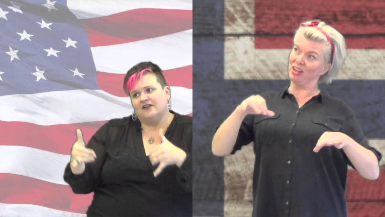 Barbie Girl in American and Norwegian Sign Language - YouTube