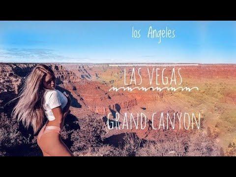 По Америке на машине. Лос Анджелес - Лас Вегас. Гранд Каньон.