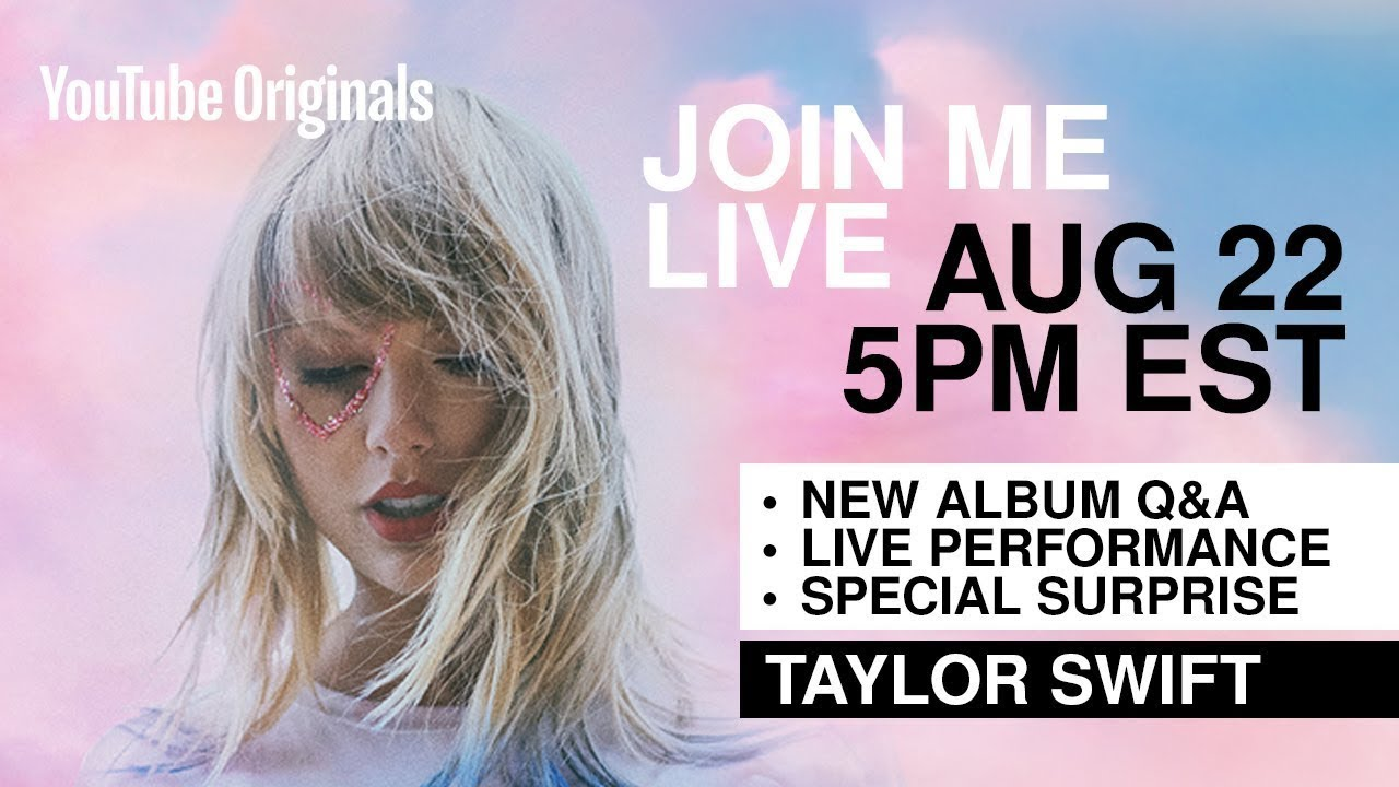 Image result for taylor swift youtube stream