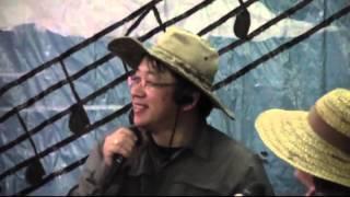 シカゴ日本人会 カラオケ大会で熱唱 2015年11月14日.