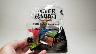 4К Кролик Пітер іграшка #6 Пітер рок-н-рол Макдональдс Хеппі Міл іграшки лютий 2018
