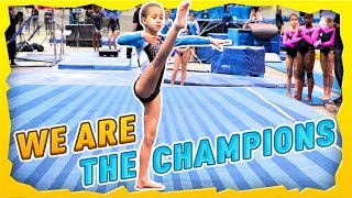 First Place Team at Gymnastics Competition| Rachel Marie