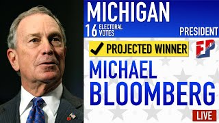 Michael Bloomberg vs Donald Trump | 2020 Election Prediction