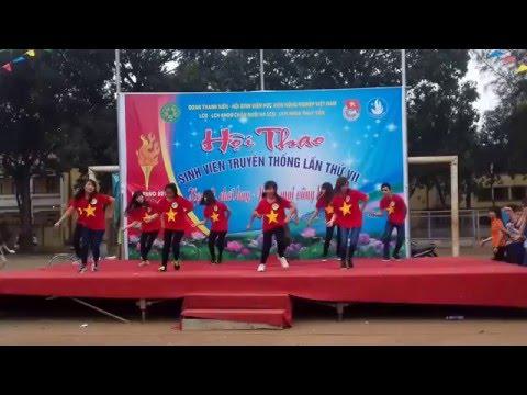 Nhảy Tiến Lên Việt Nam ơi - K59CNTYA HVNNVN